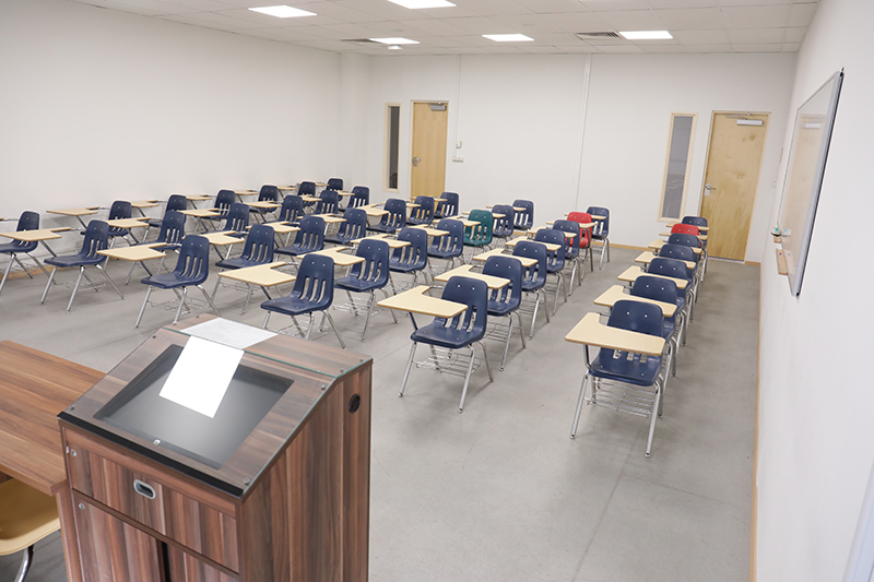 Medium Classrooms in East Wing PAB