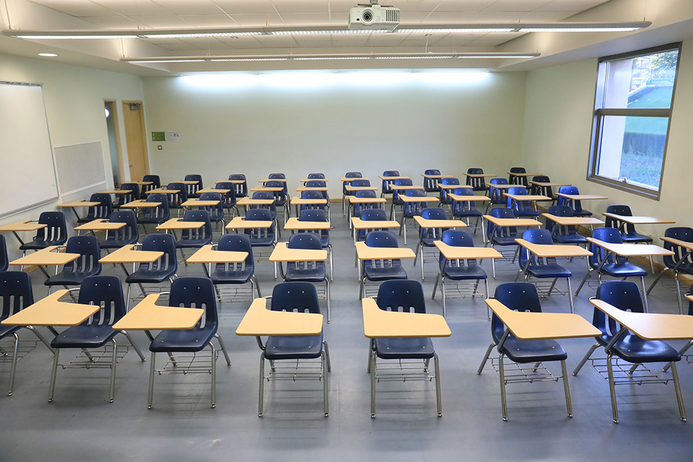 Small Classrooms in West Wing of PAB