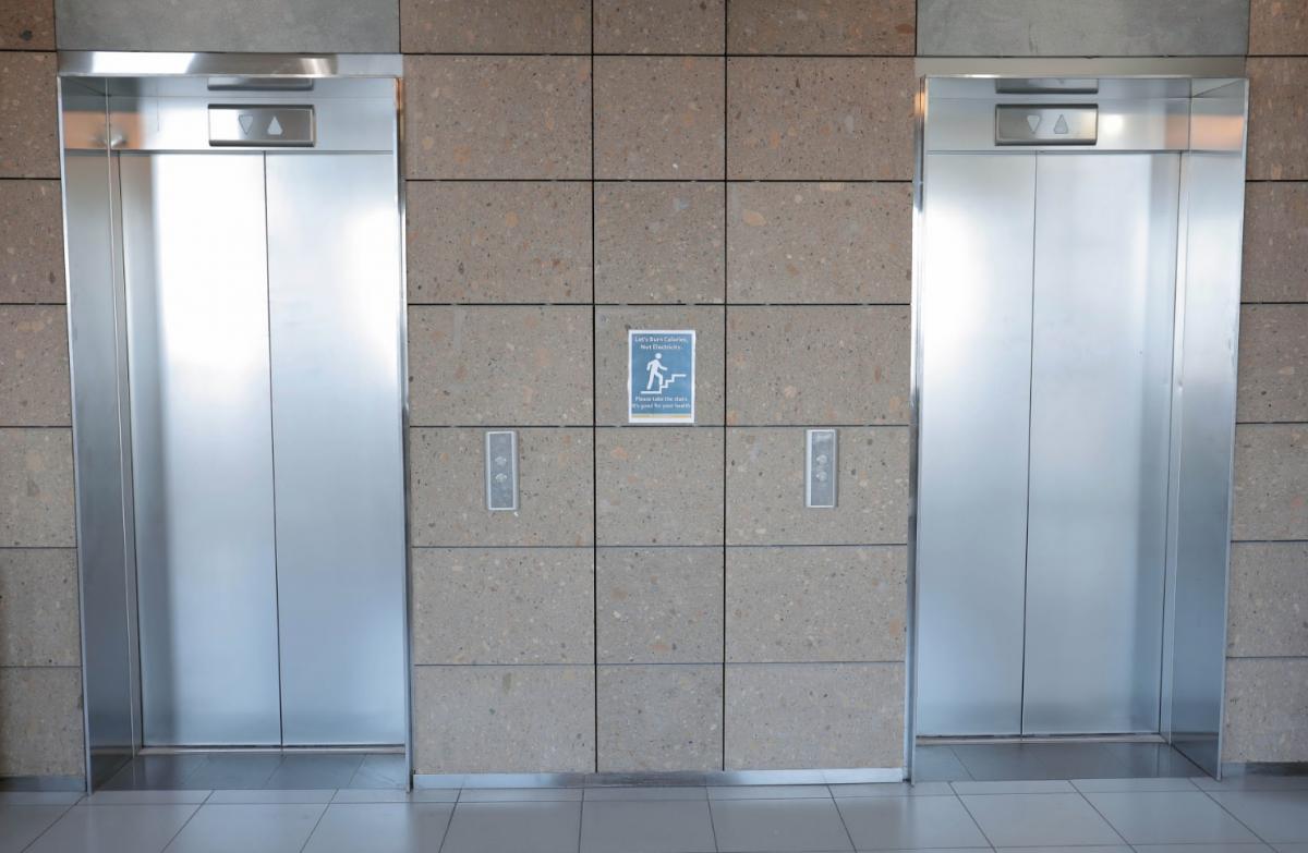 PAB Elevator Bay